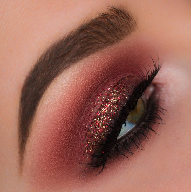 Best Ideas For Makeup Tutorials Burgundy Red Smokey Eye Makeup