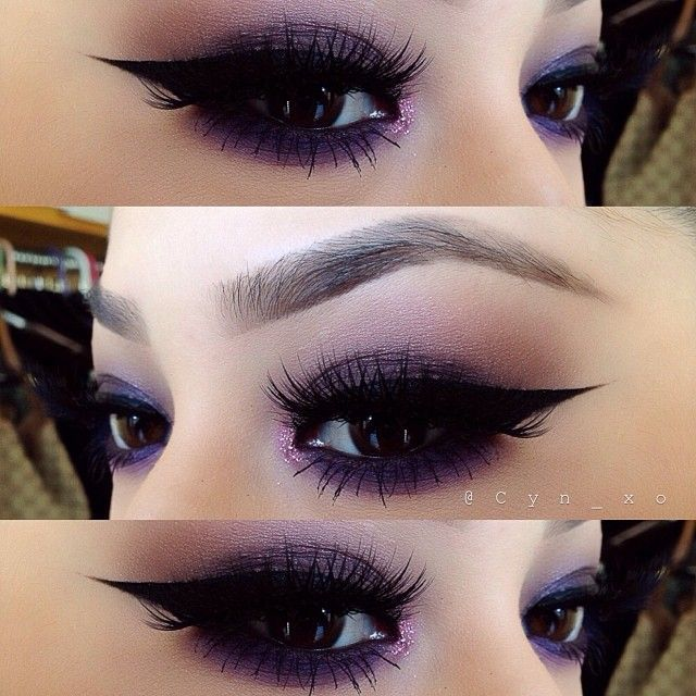 Best Ideas For Makeup Tutorials Catch Up With The Purple Trend 15