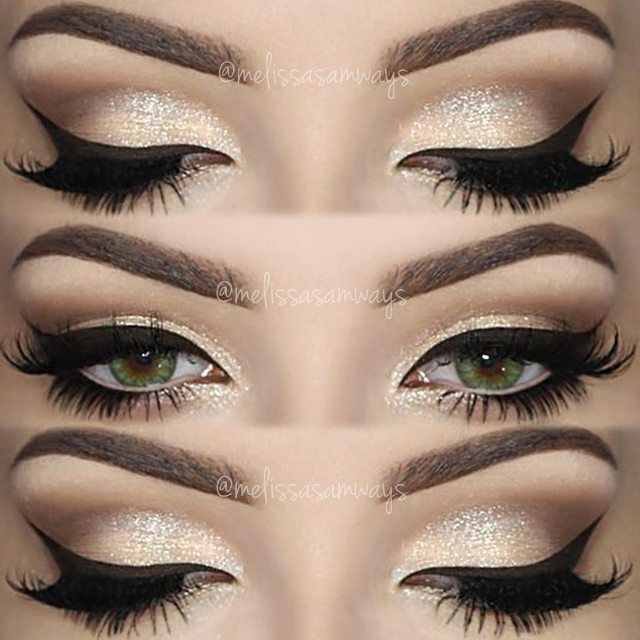 Best Ideas For Makeup Tutorials Champagne Smokey Eye Makeup