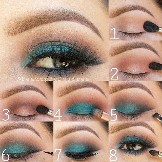 Best Ideas For Makeup Tutorials Emerald Brown Eye Makeup Tutorial