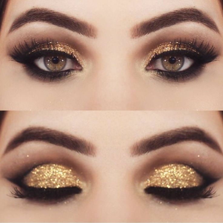 Best Ideas For Makeup Tutorials Gold Eyeshadow Colorful