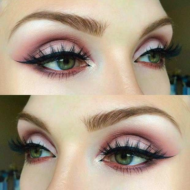 Best Ideas For Makeup Tutorials Matte Pink Eye Makeup Look For