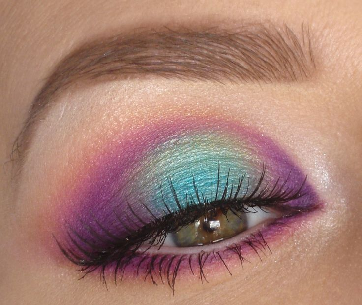 Best Ideas For Makeup Tutorials Mermaid Halo Eye Makeup Tutorial - 80s-eye-makeup