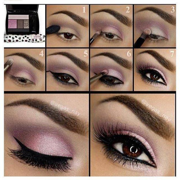 Makeup for brown eyes tutorial