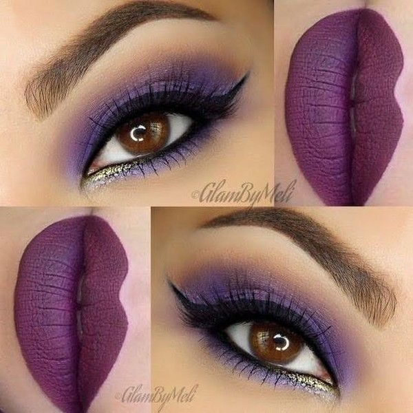 95eaf20f771407 Best Ideas For Makeup Tutorials   Purple Madness By Melissa M ...