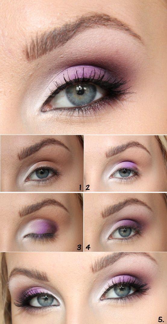 Best Ideas For Makeup Tutorials Purple Pink Eye Combo Flashmode