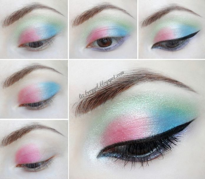 Best Ideas For Makeup Tutorials Pastel Makeup Pastel Gothic - Grunge-makeup-ideas