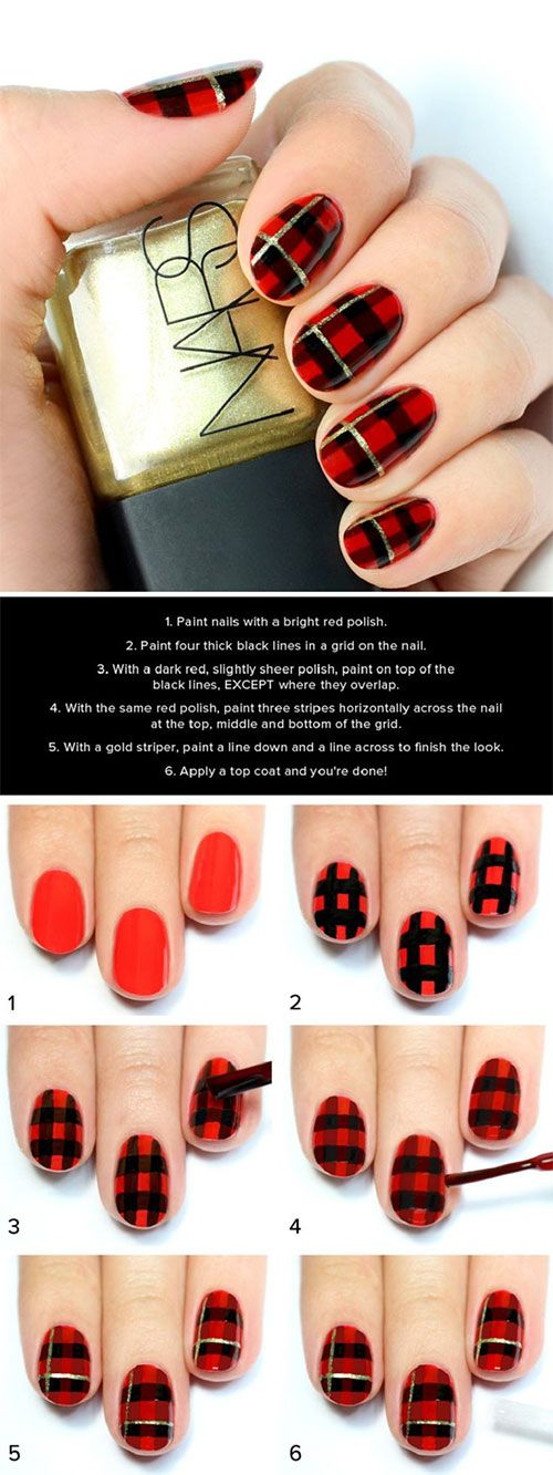 dark red holiday nails houston hospitality