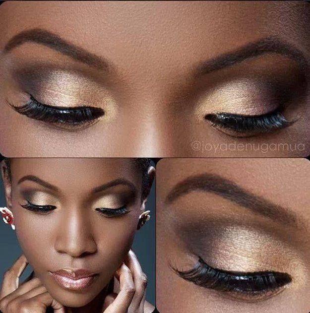 Best Ideas For Makeup Tutorials : Gold Eyeshadow | Eye Makeup Ideas ...