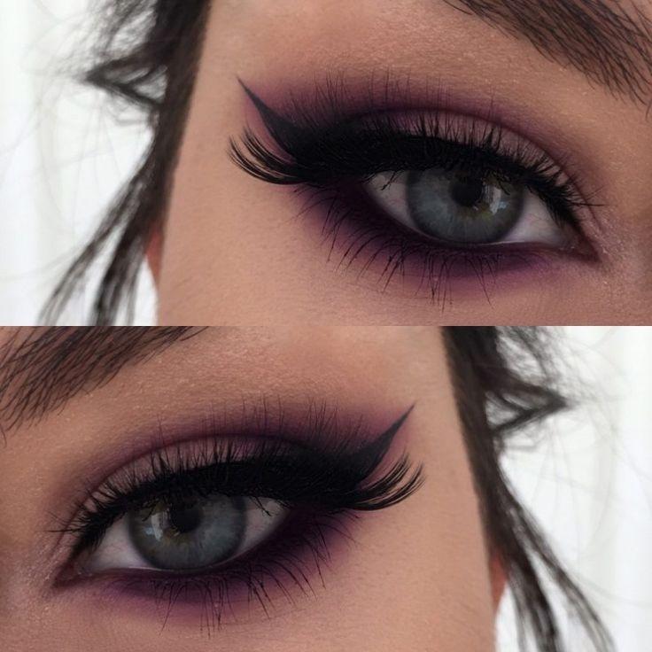Best Ideas For Makeup Tutorials Purple Vamp Makeup Tutorial