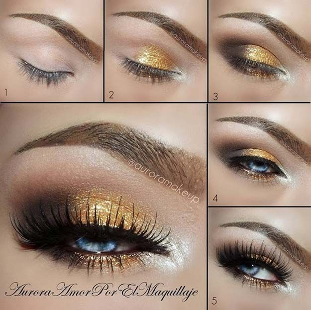 Best Ideas For Makeup Tutorials Makeup Ideas For Prom Gold And