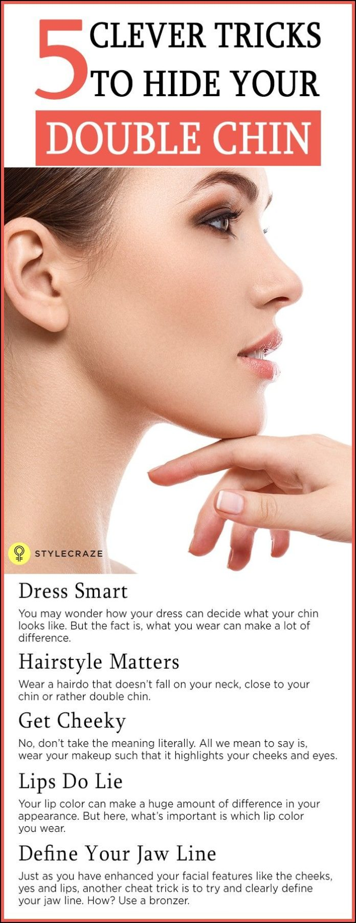 Best Ideas For Makeup Tutorials Hairstyles To Hide Double Chin