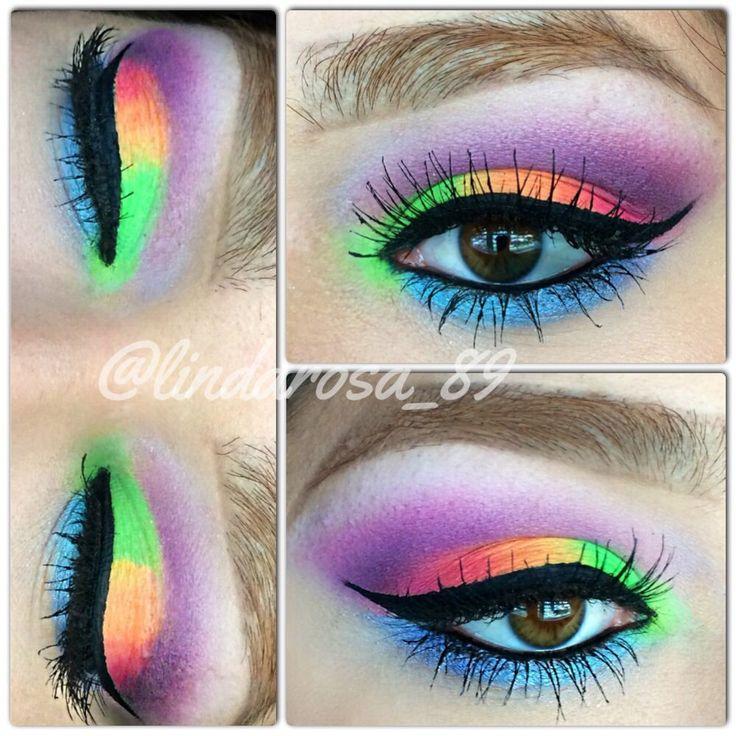 Best Ideas For Makeup Tutorials Neon Eyeshadow Sleek Acid Palette