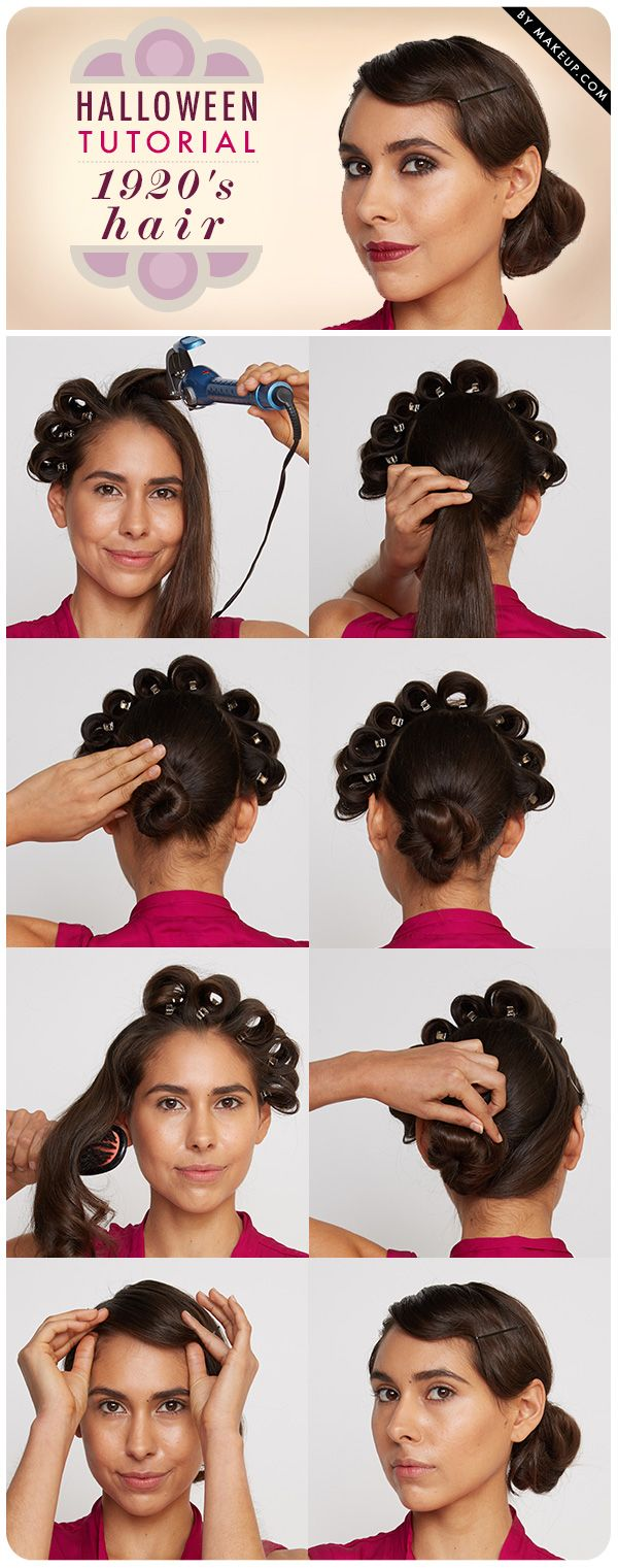 Hair Tutorials How To Do 1920s Flapper Hair Finger Wave Included