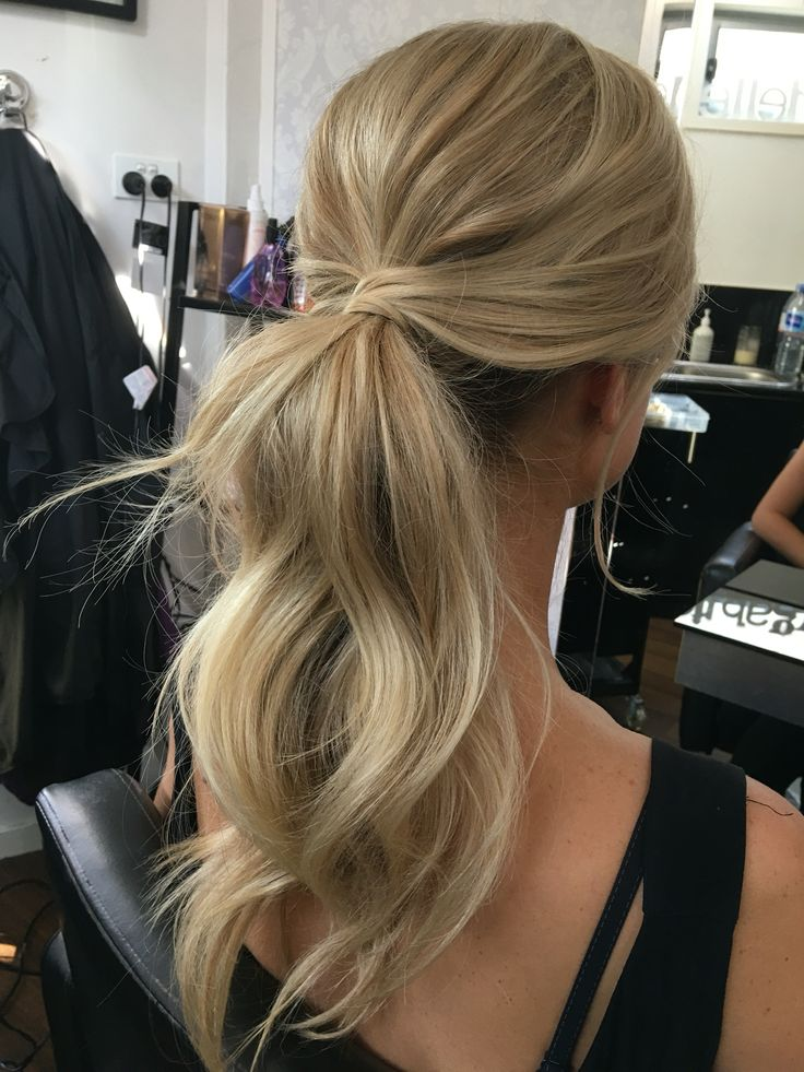 Summer Hairstyles Pony Tail Hairstyles Bridal Hair Style Messy