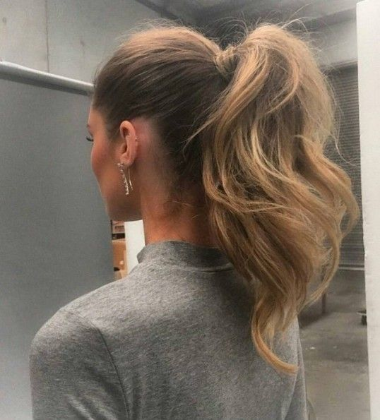 Summer Hairstyles Thick Full Ponytail The Coolest Ponytail