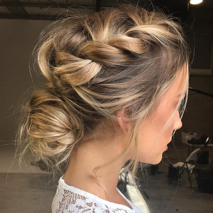 Summer Hairstyles Loose Updos Pretty Messy Wedding Updo