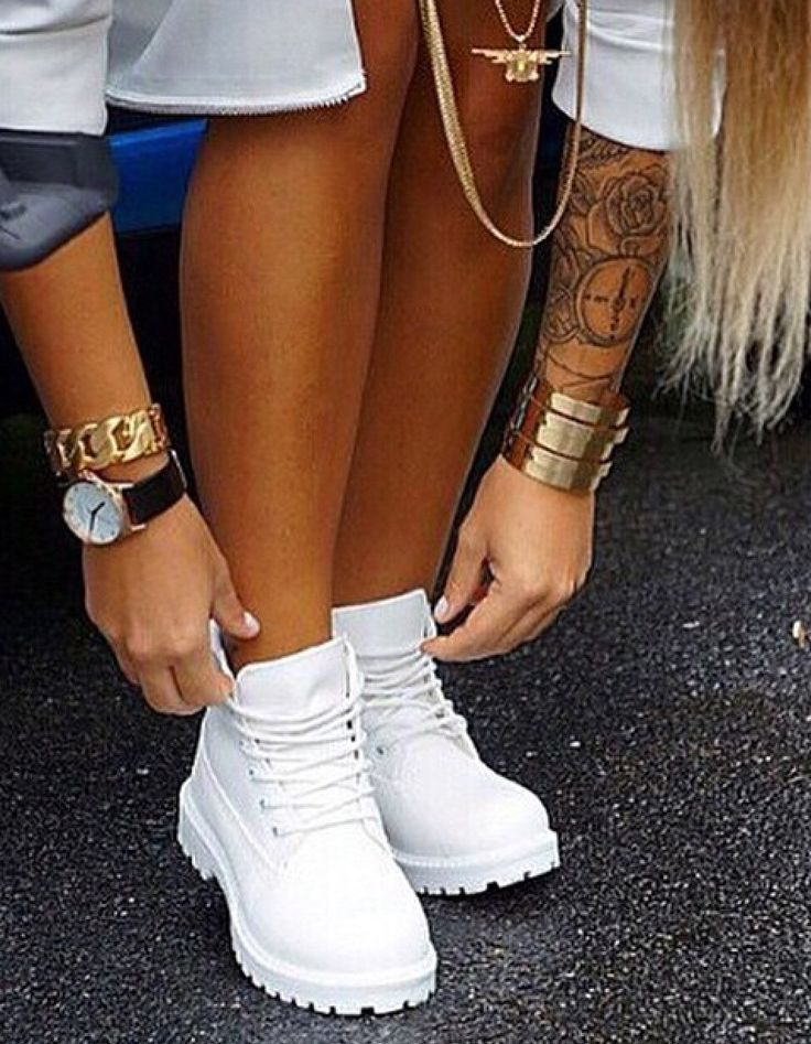 Trendy Ideas For Women s Sneakers   White Timbs - Flashmode ... 11a20a22562b