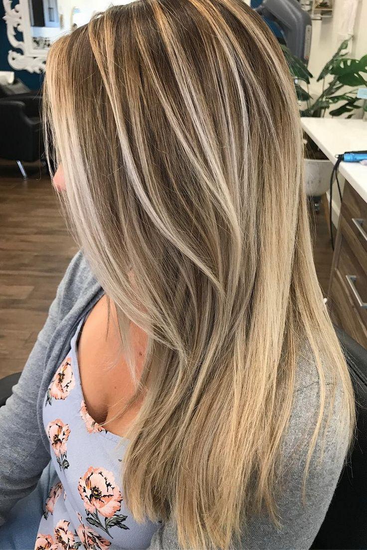 Summer Hairstyles 51 Ultra Popular Blonde Balayage Hairstyle