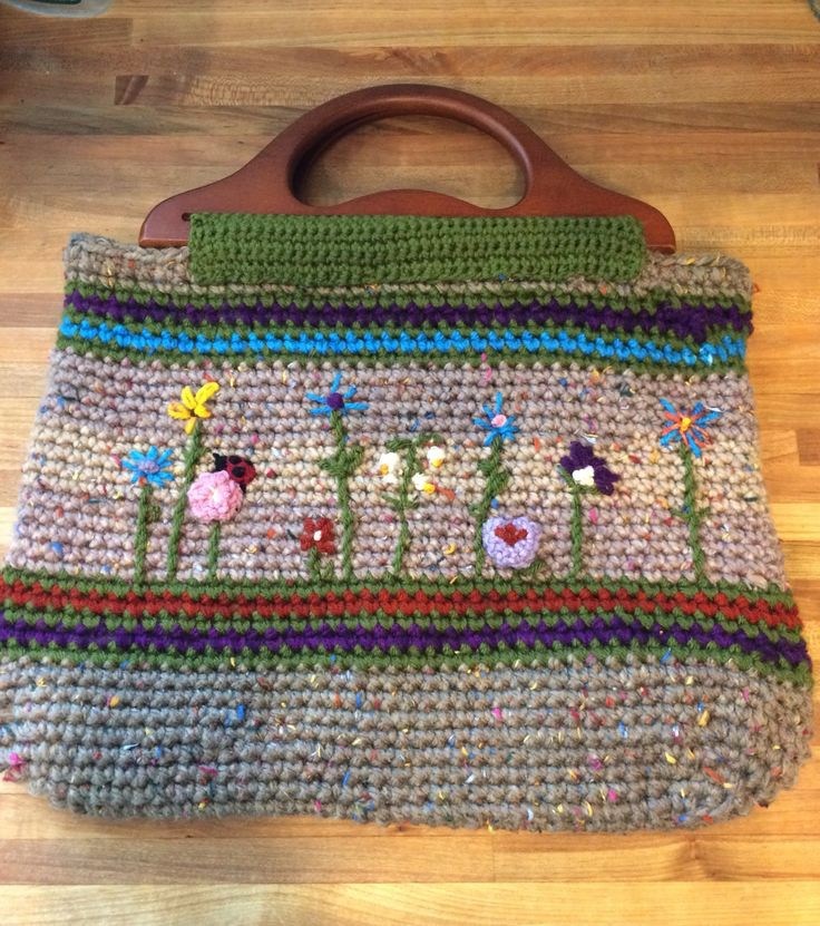 c7bacbcb194b Bags   Handbag Trends   BUY NOW! Hand Crocheted Tote Bag
