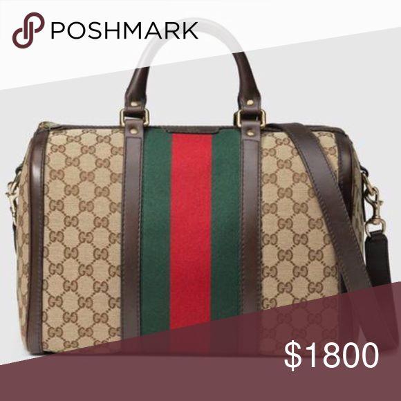 c8e79f710dcf Bags & Handbag Trends : Gucci Original Vintage Handbag Authentic ...