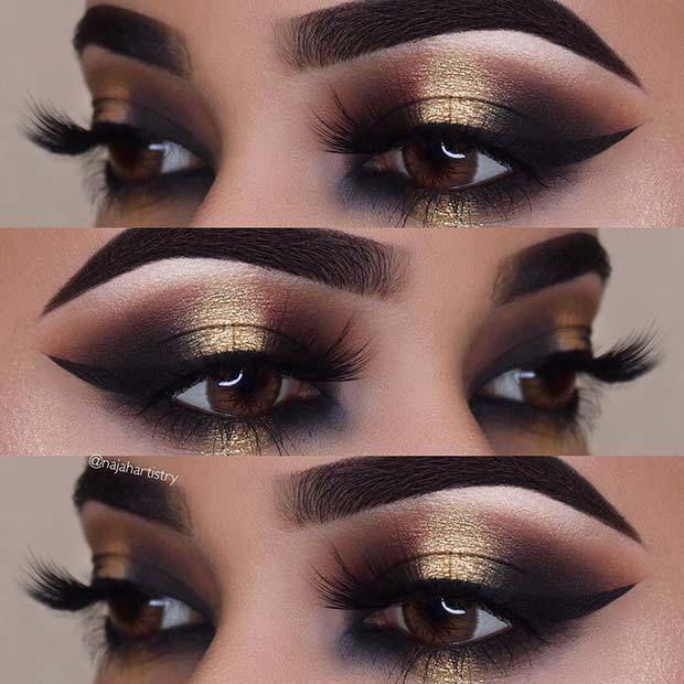 Best Ideas For Makeup Tutorials 23 Glitzy New Years Eve Makeup