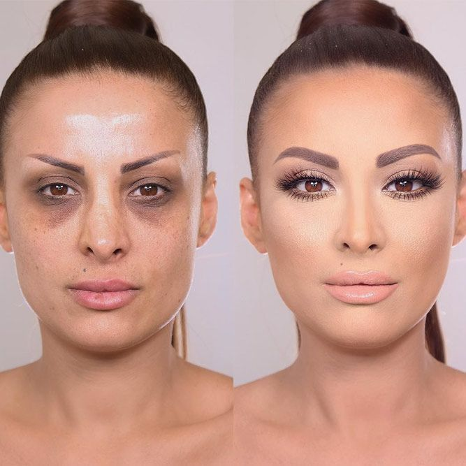 Best Ideas For Makeup Tutorials Incredible Before And After Makeup