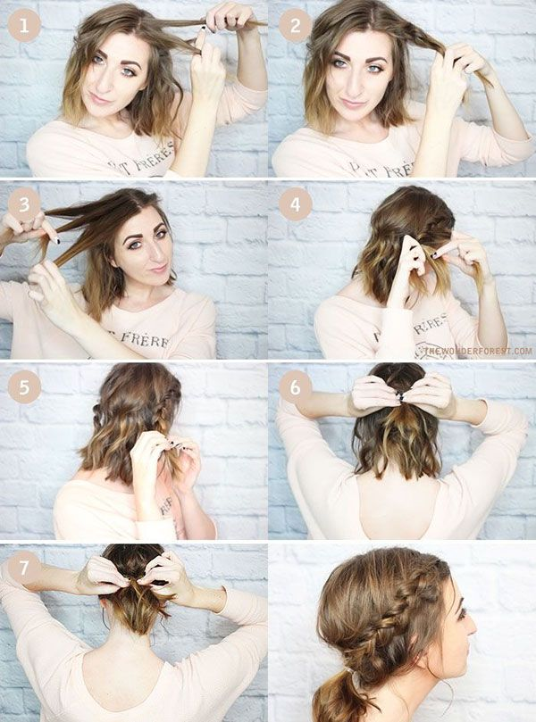 Summer Hairstyles 15 Cute And Easy Hairstyle Tutorials For Medium