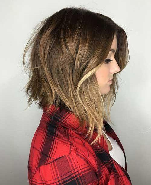 Summer Hairstyles Asymmetric Medium Bob Women Hairstyles 2016