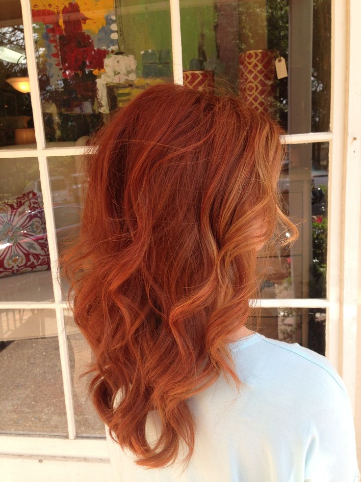 Summer Hairstyles Copper Red Hair Color Summer Hair