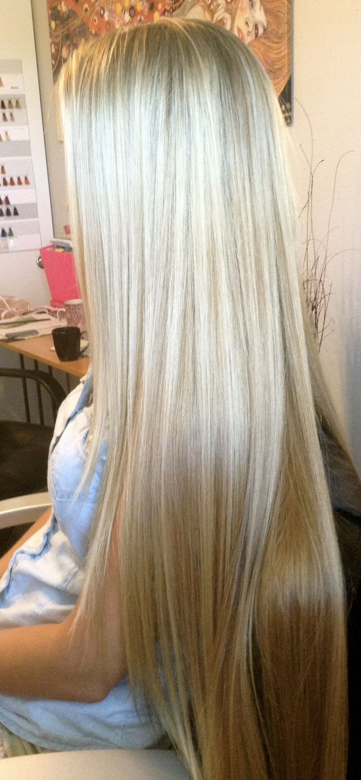 Summer Hairstyles Long Fine Hair Pretty Cut Layers With Long Side