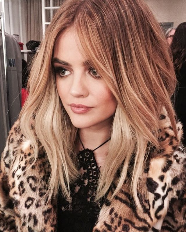 Summer Hairstyles : Makeover Alert: Lucy Hale Looks Totally ...