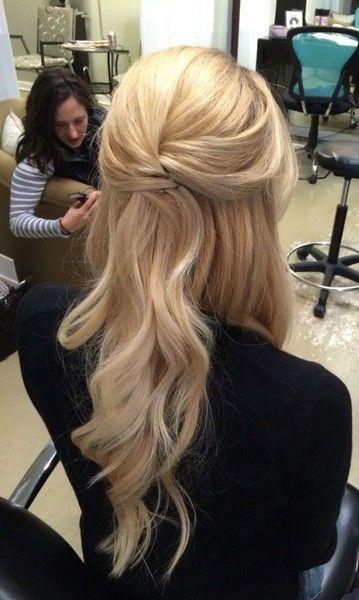 Summer Hairstyles Princess Twist The Prettiest Half Up Half Down