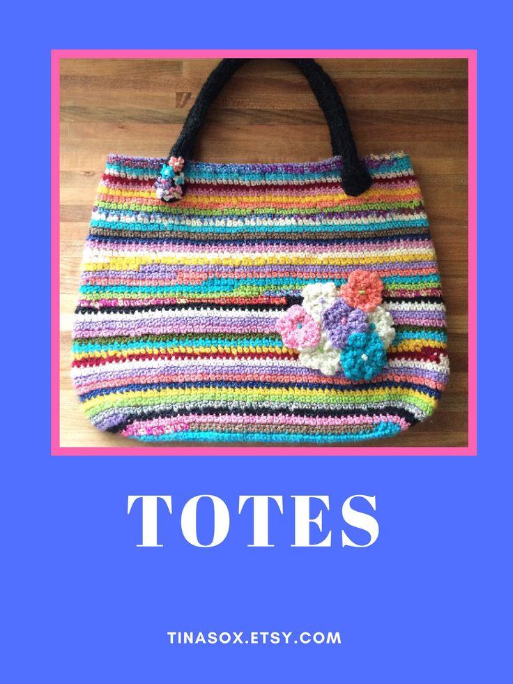 0b8d4d83f97d Hand Crocheted Tote Bag