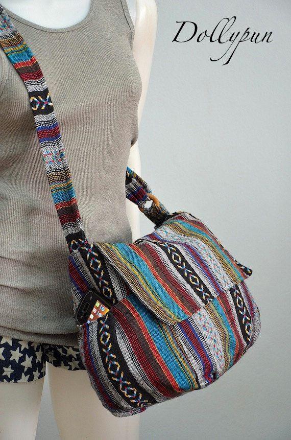 Bags   Handbag Trends   Nepali hippie style handbag, Cross body bag ... 42b2b36eb2