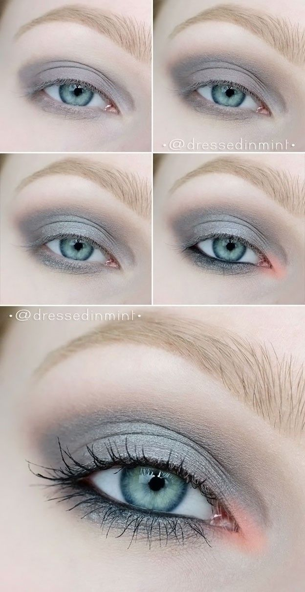 Best Ideas For Makeup Tutorials Eye Makeup For Grey Eyes