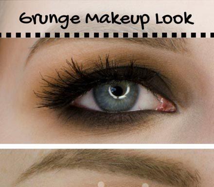 Grunge Makeup For Brown Eyes Makeup Nuovogennarino - Grunge-makeup-ideas