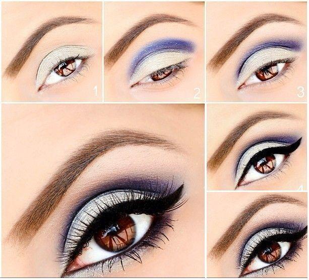 Best Ideas For Makeup Tutorials Silver And Blue Eye Makeup