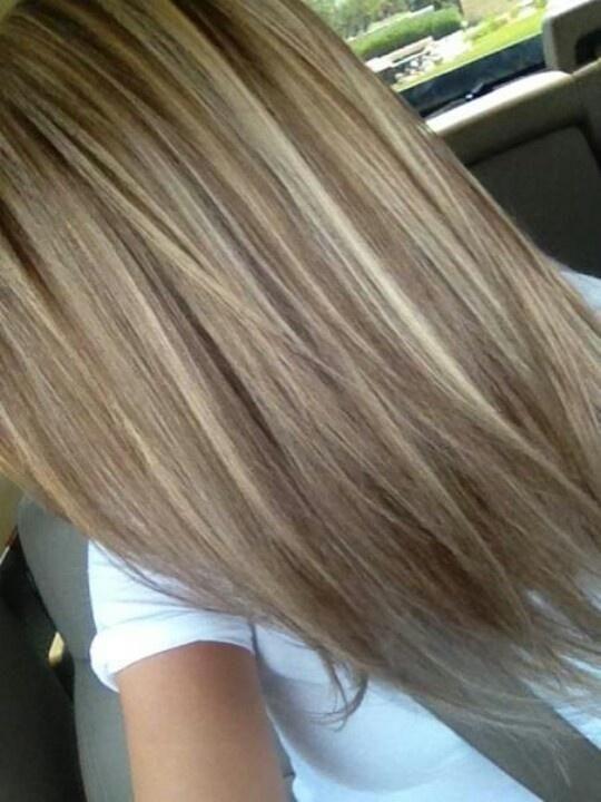 Summer Hairstyles Darker Lowlights With Blonde Caramel