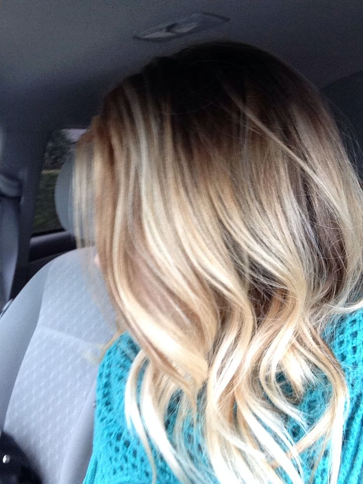 Summer Hairstyles My Blonde Balayage Ombre Long Bob Flashmode