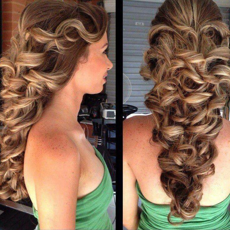 Summer Hairstyles Peinados Para Fiesta De Noche Flashmode - Peinados-para-fiesta-de-noche