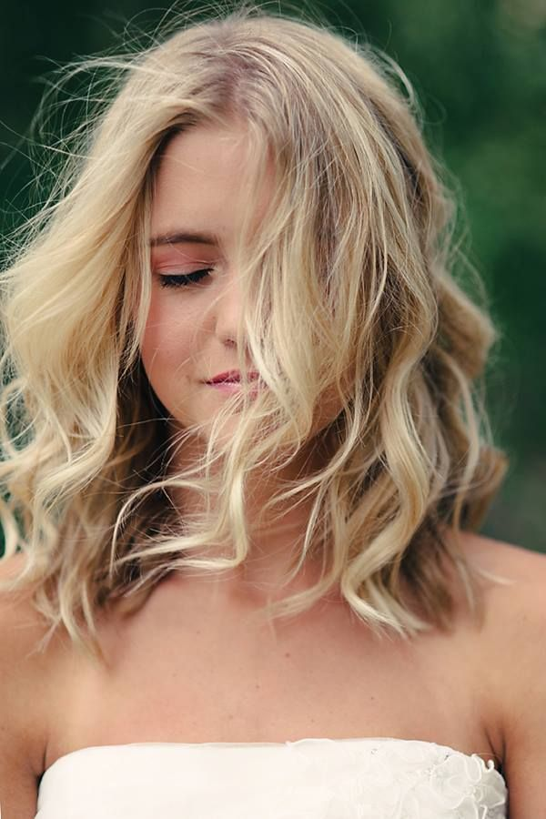 Summer Hairstyles Tousled Waves For Shoulder Length Hair