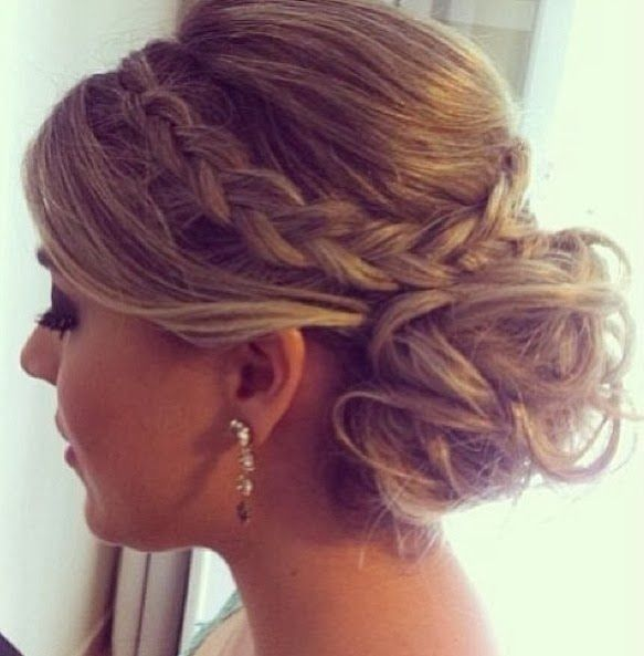 Summer Hairstyles Updos With Braids Prom Hairstyle 2015