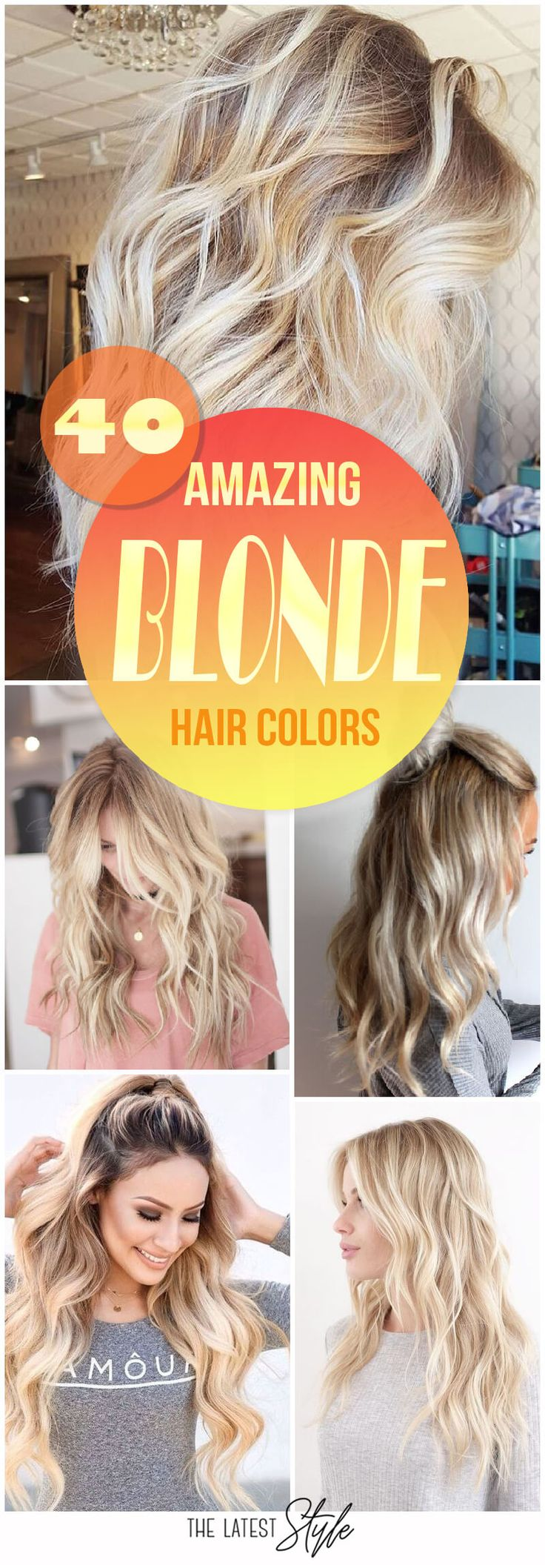 Summer Hairstyles 40 Blond Hairstyles That Will Make You Look