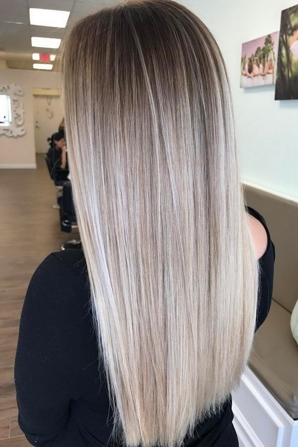 Summer Hairstyles 51 Ultra Popular Blonde Balayage Hairstyle