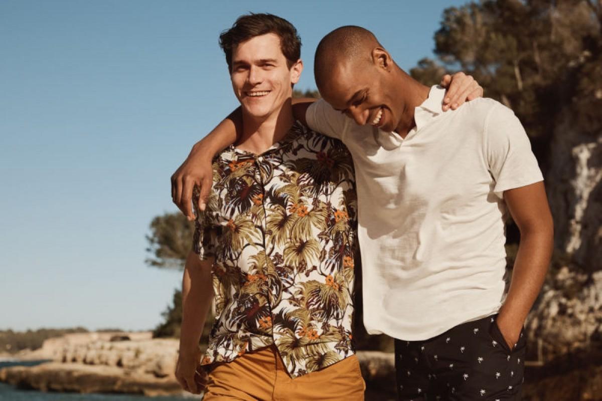 Quelques vêtements de la ligne homme H & M