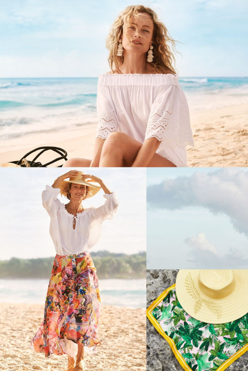 Les imprimés floraux inondent l'été avec 'Under the sun' de H & M