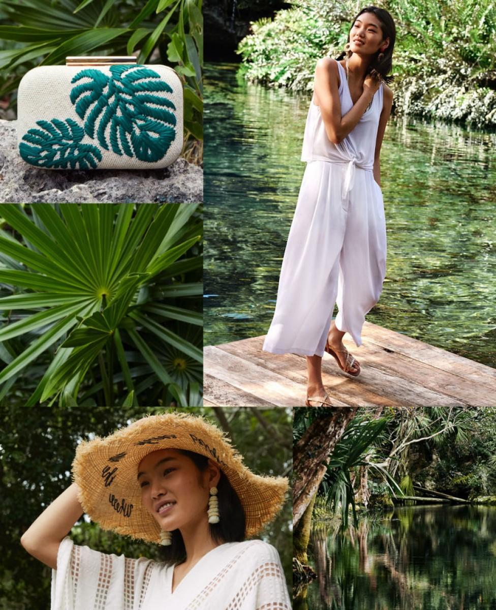 Les vêtements cuits à la vapeur en blanc arrivent chez 'Under the sun' de H & M