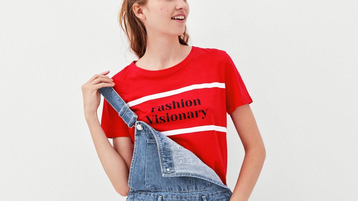 Texte du t-shirt 'Fashion Visionary' de Zara, pour 7,95 euros.