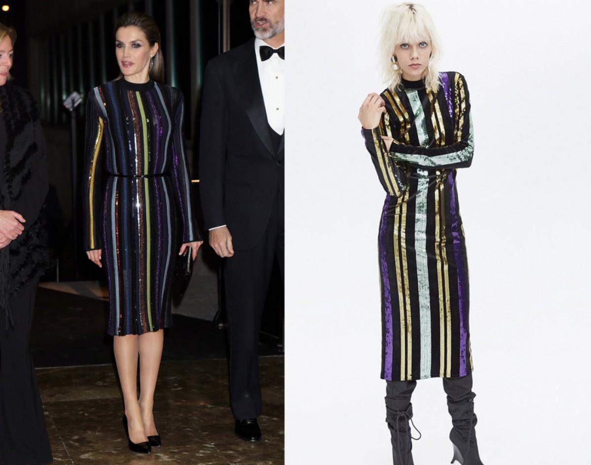 La robe de Nina Ricci et le design de Zara